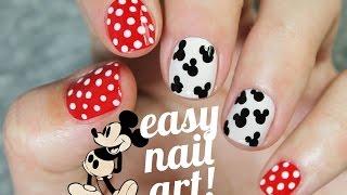 Download Diseño de uñas SUPER FÁCIL y rápido de Mickey Mouse Video