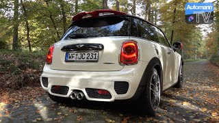 Download 2016 MINI JCW (Pro Exhaust) - Autumn DRIVE (60FPS) Video