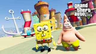 Download SPONGEBOB, PATRICK & BIKINI BOTTOM!! (GTA 5 Mods) Video