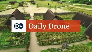 Download #DailyDrone: Freilichtlabor Lauresham | DW Deutsch Video