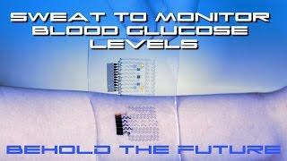 Download Wearable Patch Uses Sweat To Monitor Blood Glucose Levels - BTF Video