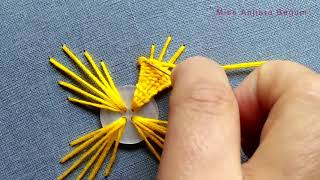Download Cute Hand Embroidery Button Work Designs,Hand embroidery fabric #Miss A ,শৌখিন কাজ,फैंसी काम 2020 Video