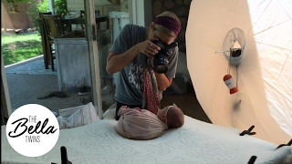 Download Birdie has her FIRST PHOTO SHOOT!!! Brie shows us around the set! Video