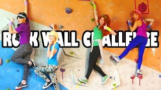 Download Princess Rock Wall Challenge (Who is the Best Climber) Totally TV Video