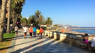 Download MÁLAGA WALK | Beach Promenade from Malagueta to Caleta Beaches | Spain Video