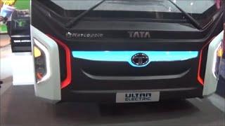 Download Tata ultra Electric Bus Delhi auto expo 2016 Video