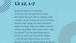 Download #Ewangelia | 19 października 2018 | (Łk 12, 1-7) Video