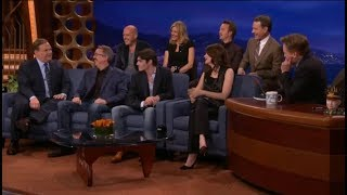 Download Conan O'Brien interviews the cast of Breaking Bad Video
