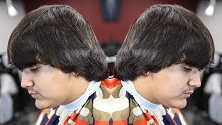 Download COMBOVER TRANSFORMATION HAIRCUT: MID FADE / HARD PART Video
