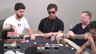 Download Crazy Ace-Hi Bluff/Rebluff for $10K!! ♠ Israeli Ron v Bruno ♠ Live at the Bike! Hand of the Night Video