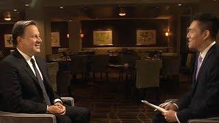 Download Panamanian President, Juan Carlos Varela, discusses renewed relations with China Video