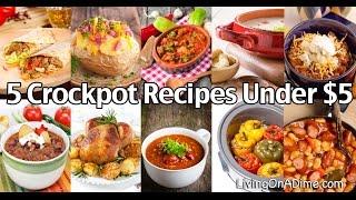 Download 5 Crockpot Recipes Under $5 Video