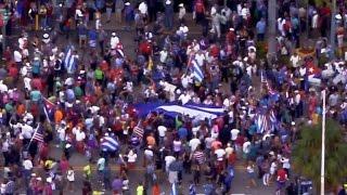 Download Cuban-Americans celebrate Castro's death Video
