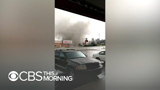 Download Powerful tornado rips through South Bend, Indiana Video
