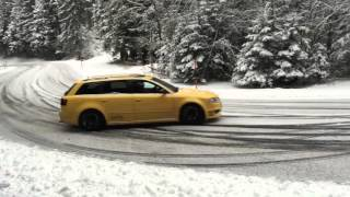 Download Audi RS4 Snow Drift Video
