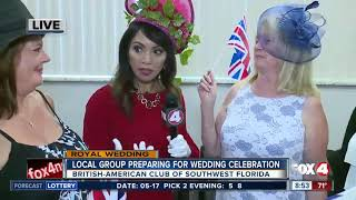 Download British-American Club of Southwest Florida preparing for Royal Wedding Video