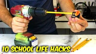 Download 10 Back to School Life Hacks Video