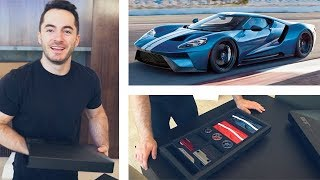 Download Unboxing the Ford GT Ordering Kit Video