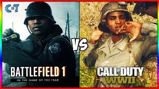 Download COD WW2 vs BF1 Gameplay & Graphics Video