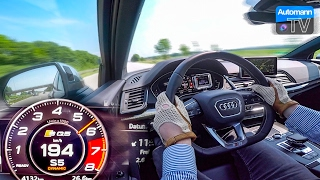 Download 2017 Audi SQ5 (354hp) - 0-220 km/h acceleration (60FPS) Video