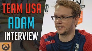 Download Team USA Adam on his Overwatch Origins, Playing for Cloud9 & The World Cup team - Esports Interview Video
