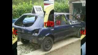 Download banger racing car build Video