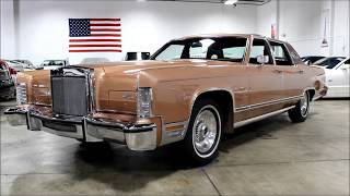 Download 1978 Lincoln Continental Town Car Video