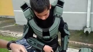 Download Disfraz HALO 4 Jefe Maestro Video