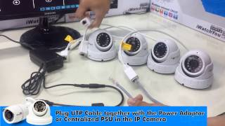 Download How to install CCTV IP Camera using network switch hub (iWatchYou CCTV) Video