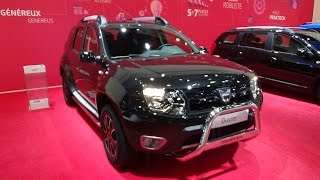 Download 2017 Dacia Duster Black Shadow - Exterior and Interior - Auto Show Brussels 2017 Video