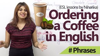 Download English Lessons – How to order a coffee in English? ( Free Spoken English lessons) Video
