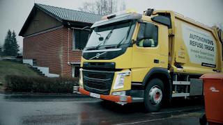 Download Volvo Trucks -Refuse handling like you've never seen it before (autonomous truck) Video