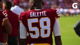 Download Redskins In :60 - Galette Working To Earn More Reps Video