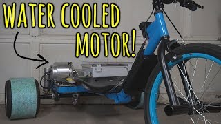 Download Making a Water Cooled Electric Drift Trike Video