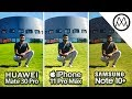 Download Huawei Mate 30 Pro vs iPhone 11 Pro Max vs Samsung Note 10 Plus Camera Test Comparison! Video