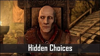 Download Skyrim: 5 Secret Choices You Didn't Know You Had in The Elder Scrolls 5: Skyrim Video