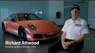 Download Richard Attwood meets his British Legends Edition 911 Carrera 4 GTS. Video