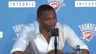 Download Russell Westbrook sneak diss kevin Durant & Steph Curry ″super team″ Video