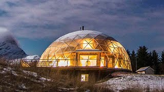 Download Norwegian Family Of 6 Constructed Their Dream Dome In The Arctic Circle Video