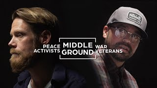 Download Veterans And Peace Activists Seek To Find Common Ground Video