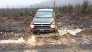 Download Lifted Dodge 1500 in a mud hole Video