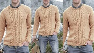 Download Woolen sweaters design for men/Hand made swearter for men/Knitting designs/New woollen sweater Video