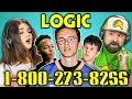 Download ADULTS REACT TO LOGIC - 1-800-273-8255 Video