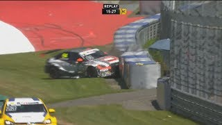 Download ADAC TCR Germany 2017. Race 1 Red Bull Ring. Crashes Video