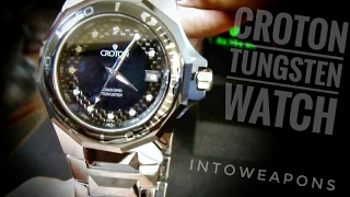 Download Croton Watch Review: Tungsten Carbide with Diamonds Video
