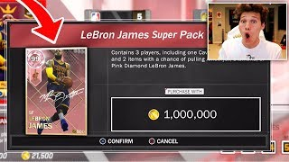 Download 1 MILLION VC SPECIAL PACK - WE PULLED PINK DIAMOND LEBRON JAMES Video