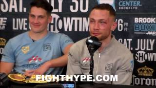 Download CARL FRAMPTON CLOWNS TYSON FURY AND QUESTIONS IF HE'S IRISH; HOPES TO REACH CONOR MCGREGOR STATUS Video
