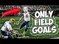 Download CAN I WIN A GAME ONLINE ONLY KICKING FIELD GOALS? MADDEN 17 CHALLENGE Video