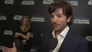 Download Rogue One: A Star Wars Story: Diego Luna ″Cassian Andor″ Celebration Europe Interview Video