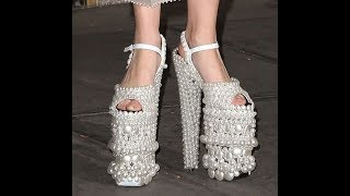 Download UNIQUE CRAZY SANDALS DESIGNS FOR WOMEN,HIGH HEELS COLLECTION,LADIES FOOTWEAR DESIGNS,SHOES FOR GIRLS Video